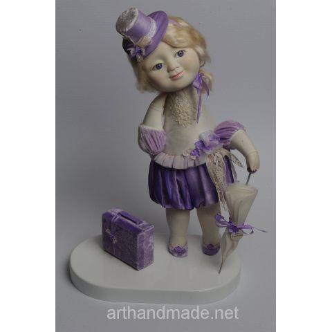 "Doll ""Mrs. Mae"". Author Irina Zhmurenko - http://arthandmade.net/jmyrenko.irina  Doll, porcelian doll, collectible doll, interior doll, handmade doll, gift, original gift, craft, handmade, collection, Gallery Magical World, кукла, купить куклу, фарфоровая кукла, коллекционная кукла, интерьерная кукла, кукла ручной работы, подарок, оригинальный подарок, коллекция, ручная работа, Галерея Волшебный мир"