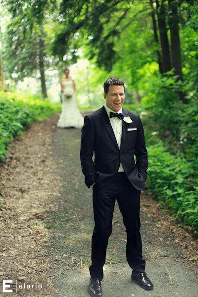 First Look - First Look Photos | Wedding Planning, Ideas & Etiquette | Bridal Guide Magazine
