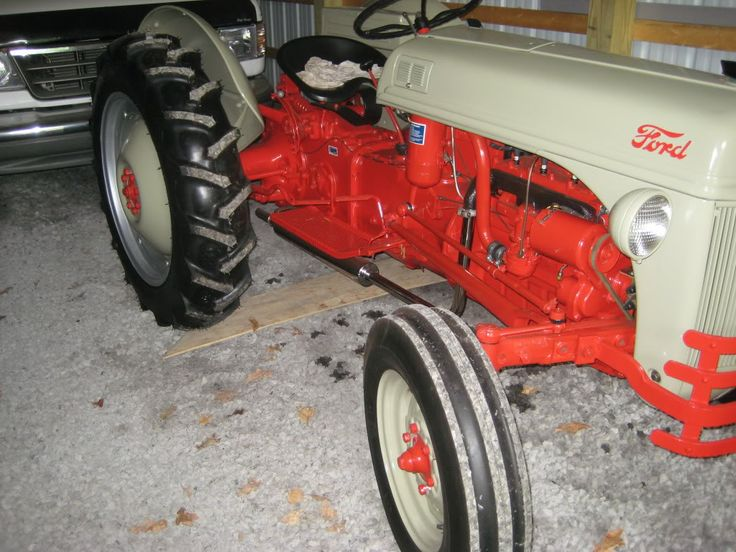 Ford Tractor Mufflers : Best images about n ford tractor on pinterest