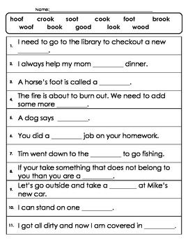 Oo/ like in book word work | To find out, Word work ...
