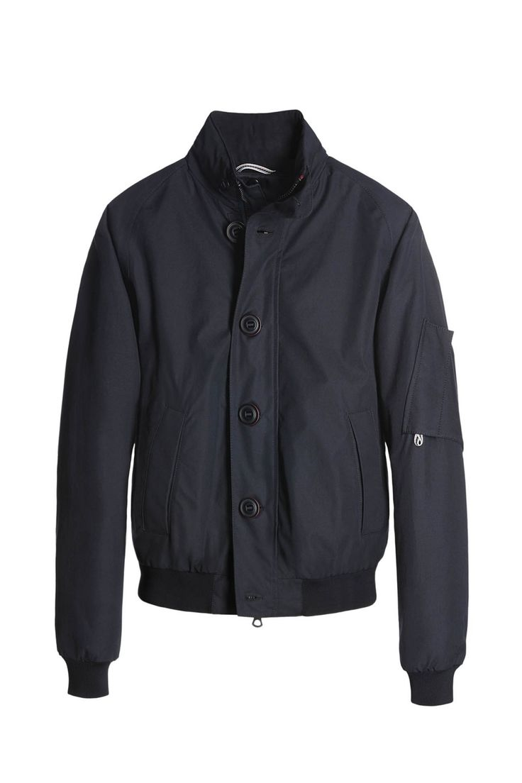BIONDO ENDURANCE ALL-WEATHER RAGLAN BLOUSON W/LINER GB_0004 Navy Blue