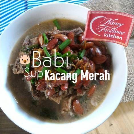 Daging Babi - Sup Kacang Merah