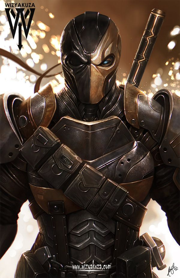 Deathstroke by Wizyakuza. - Living life one comic book at a time.