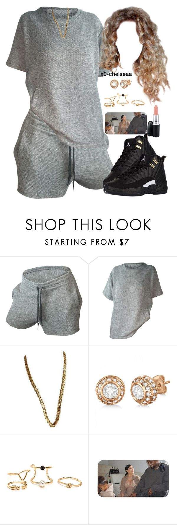 """""""07 03 16"""" by x0-chelseaa ❤ liked on Polyvore featuring Allurez and MAC Cosmetics"""