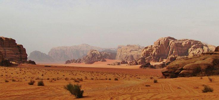 Krása jordánské pouště