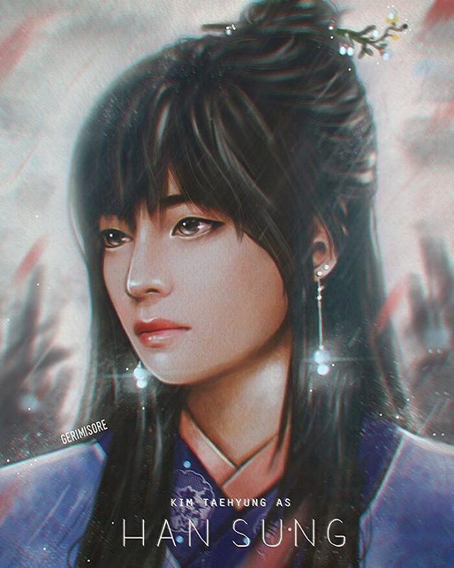 Shinee Dream Girl Wallpaper 236 Best V Fanart Images On Pinterest