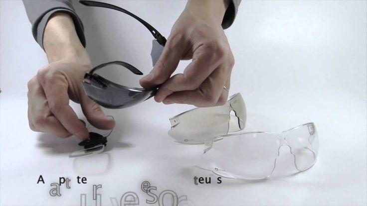 Notice de montage lunettes de protection balistique Combat Bollé Tactical