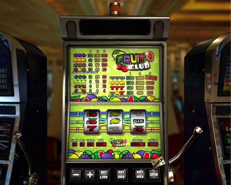 Fruit Club! Classic 3 reel slot! For more games register on http://casino-goldenglory.com/
