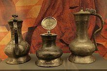 Hanseatic jugs / 14th-15th c. / Museum für Hamburgische Geschichte