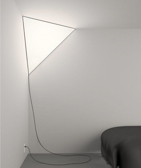 angular corner light