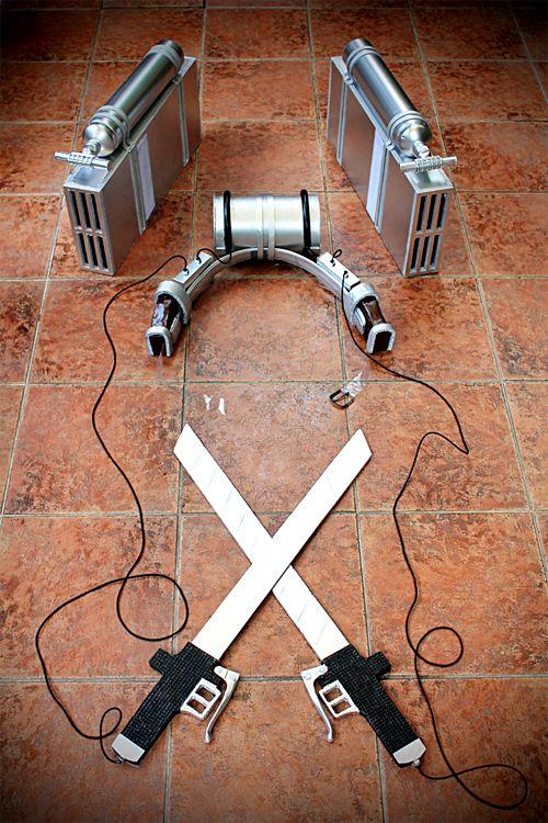 Kistunedon's tutorial on Attack on Titan 3D maneuver gear