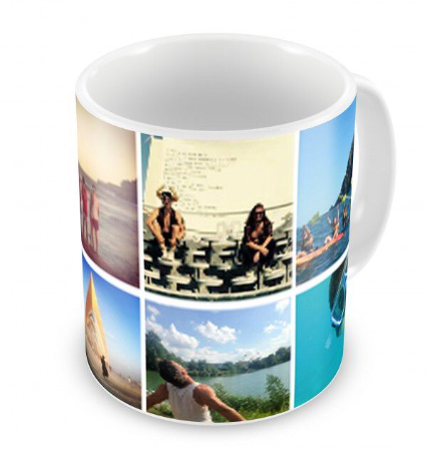 £10 - Personalised photo mugs make a great way to display fun memories and make great gifts for birthdays, christenings, engagements, anniversaries, weddings, Christmas or Mother's Day or Father's Day.