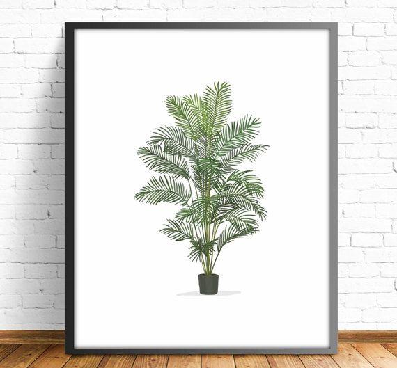 Lamina planta,planta decorativa ilustracion planta,lamina maceta,laminas decorativas,cuadros plantas,cuadros decorativos,4 TAMAÑOS INCLUIDOS