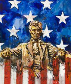 steve penley art | Abraham Lincoln by Steve Penley | Cool Art