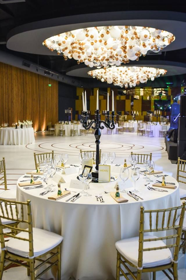 Terra Events Hall - Bucharest #terraevents #interiordesign by #square2design @modern #custommade #chandeliers