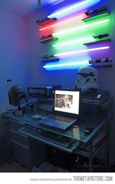 TOTAL NERDGASAM!!!!!  whacha think? @Steven Trotter Gore  can we do this in the office????  love you!