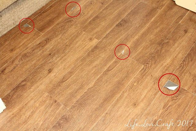 Two years after we installed peel and stick vinyl flooring, here's the update.