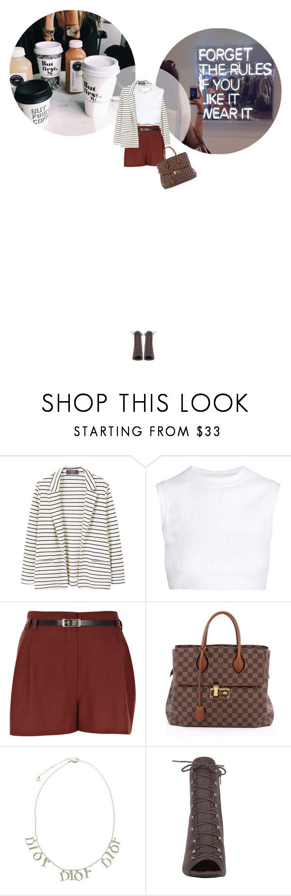 // 1332. Forget the rules. by lilymcenvy on Polyvore featuring Alaïa, MANGO, River Island, Akira Black Label, Louis Vuitton and Christian Dior