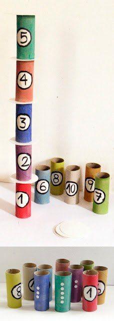 torre nombres.se podria utilizar tubos de pegamento vacios de los grandes para lo mismo