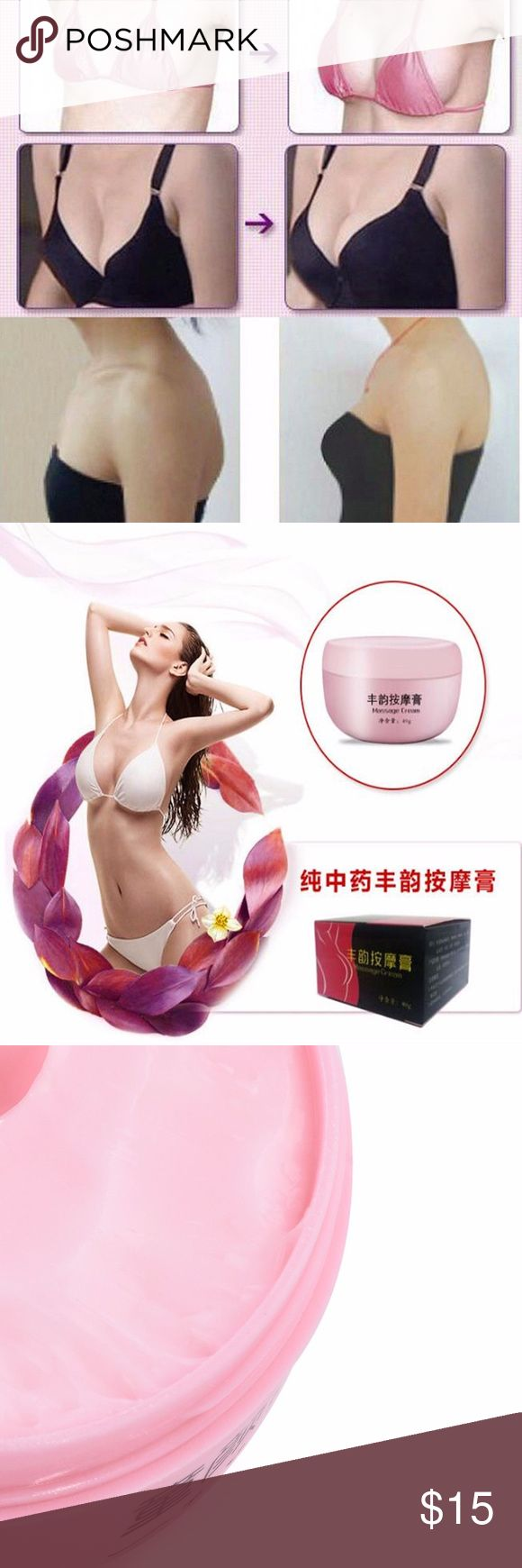 Breast-Massage-Cream-Chest-UP-Cream-Breast- ngredients : Pueraria plant essence, vitamin E, vitamin C, ginseng, Chinese angelica, motherwort, red flower Product role: to provide a variety of nutrition for the chest, improve the chest curve, make skin smooth, more texture. Special purpose: cosmetics Use the crowd: ladies Features: easy to carry, Chinese medicine extraction, no stimulation, comfor  Type: Brest Massage Cream Gender: Women's Theme: Beauty Quantity: 1Pc Net Weight: 40g Features…