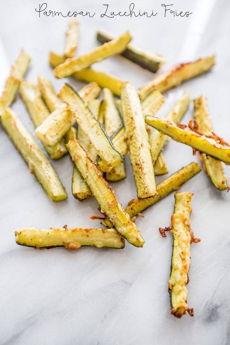 Parmesan Zucchini Fries- so delicious, and paleo friendly!