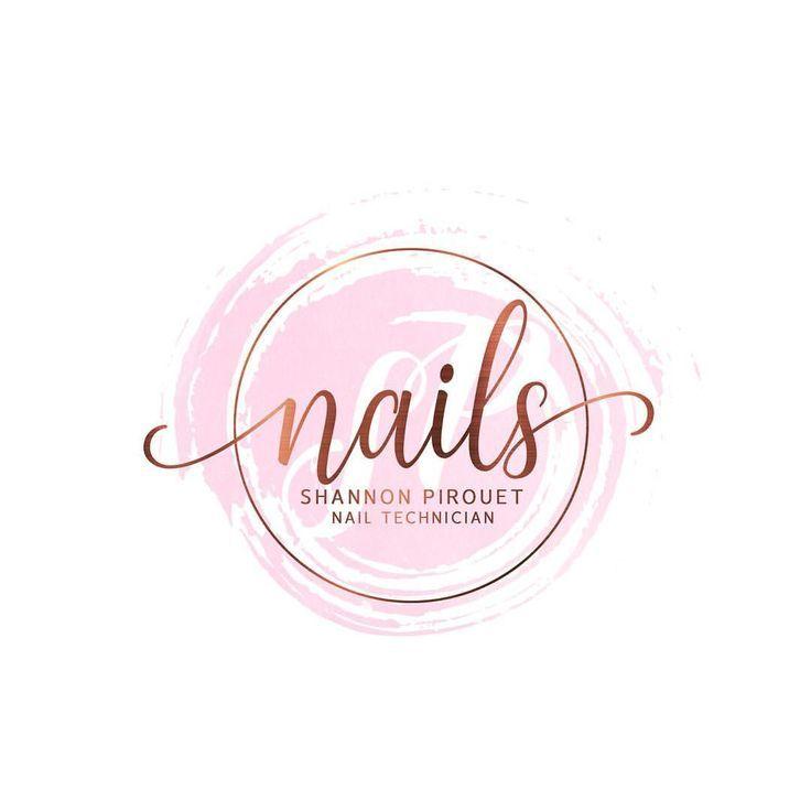 Logo design for shannon nails nailsofinstagram nailart