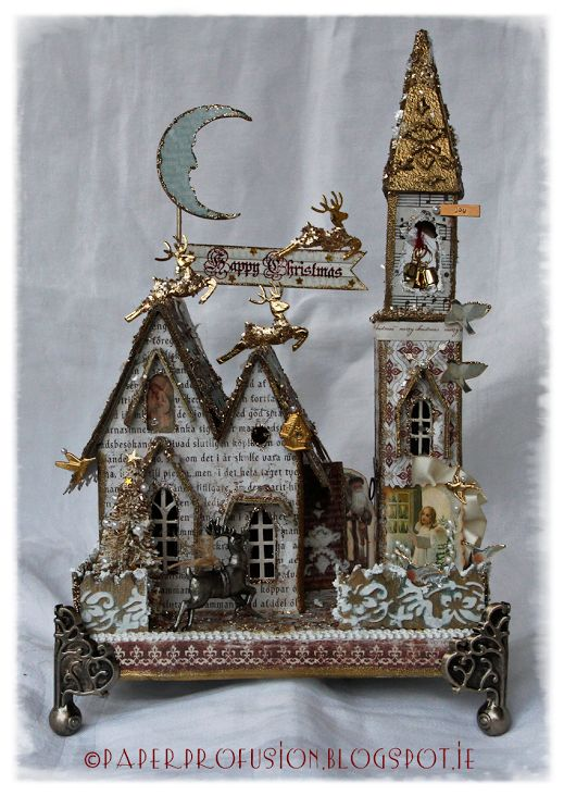 Paper Profusion: Let The Bells Ring - Spotlight at 'Crafts-Too Challenge You'