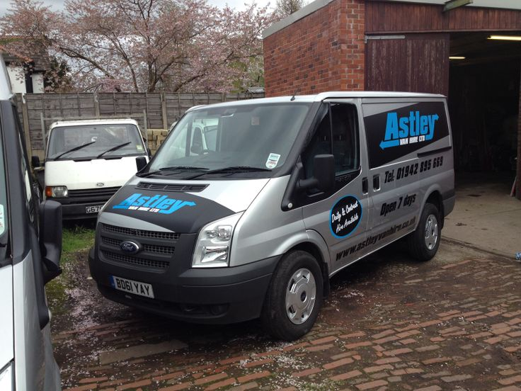 Astley Van Hire Fleet Graphics Atherton Manchester by Atherton Media