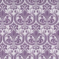 How Cool is This! Funky 60s Retro-Style Damask wallpaper in Purple