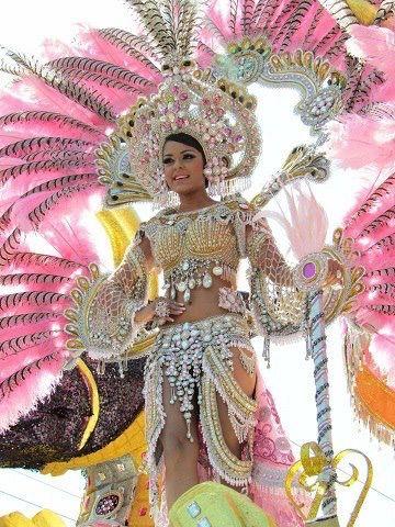 Astrid Tejada, Cale Arriba de Las Tablas, culeco del lunes de carnaval 2012. Panamá