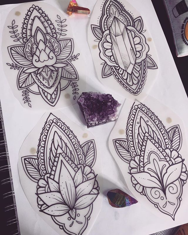 WEBSTA @ stephanietattooer - Pieces I have available to tattoo this week, would prefer to do them on calf shin or forearm area, dm me if interested