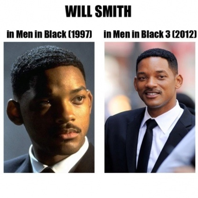 Doesn't Will Smith age...