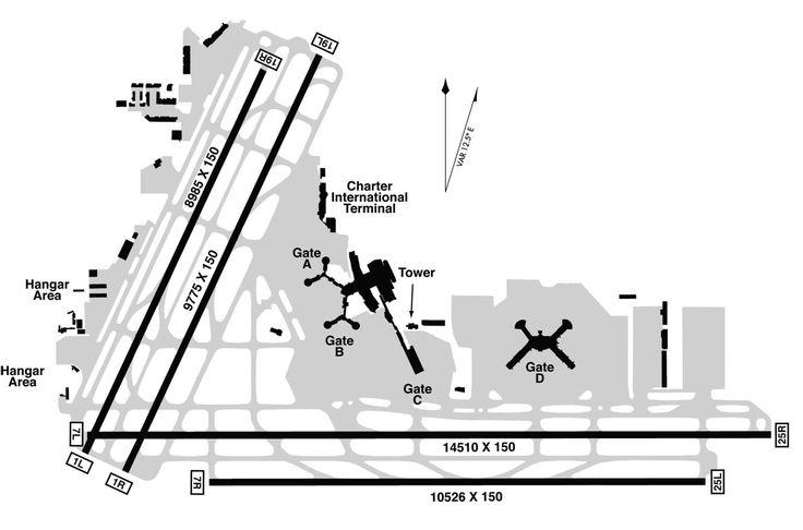 seattle airport terminal diagram