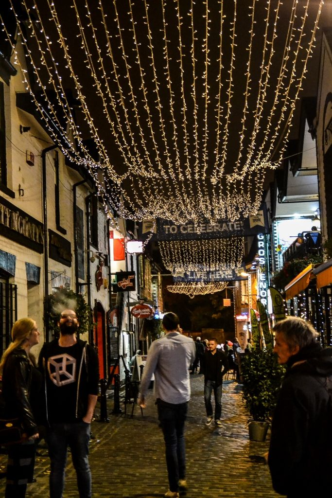 After having a sumptuous meal in Glasgow's top-notch Ubiquitous Chip restaurant I snapped this scene outside in the west end's rather trendy and bohemian Ashton Lane which seemed appropriate for th...