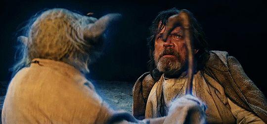 Ah Skywalker, missed you have I #starwars
