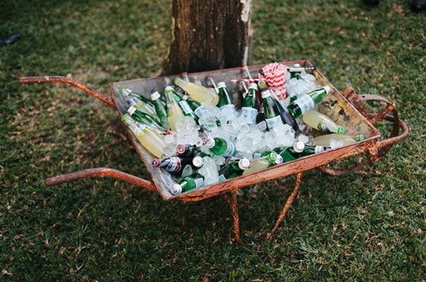 More ideas for fun refreshment stations at the ceremony