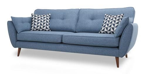 zinc 4 seater sofa zinc dfs salon fabric sofa sofa. Black Bedroom Furniture Sets. Home Design Ideas