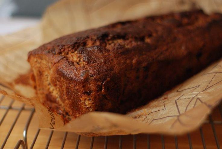 Receita de bolo de banana do nigel slater