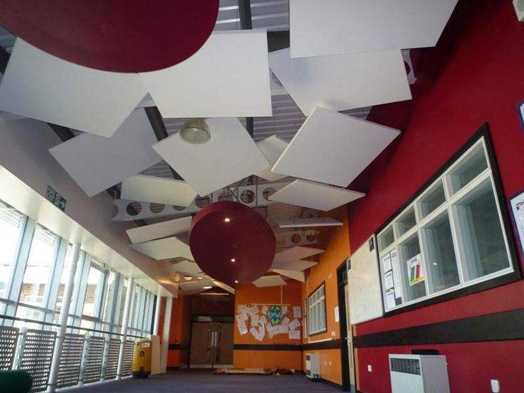 Ecophon Master Solo College Corridor 44 Plafond
