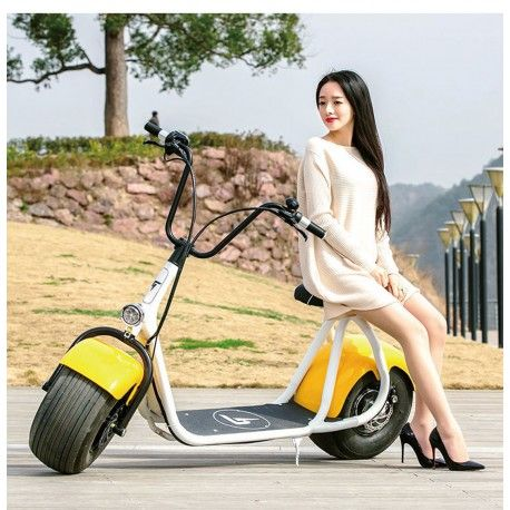 Coco E-Roller e-bike Big City Jumper mit EABS Hydraulik Bremssystem