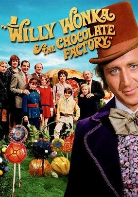 WILLY WONKA & THE CHOCOLATE FACTORY (1971): A poor boy wins the opportunity to tour the most eccentric and wonderful candy factory of all.