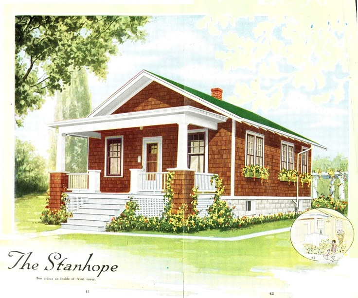 The Aladdin Stanhope As Seen In The 1919 Catalog House