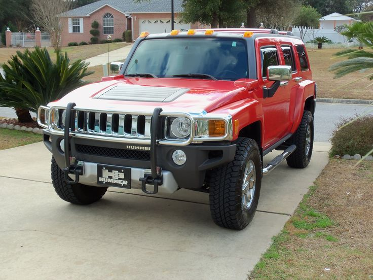 Picture #8-Bonnie's Hummer after Blinging. January, 2012.