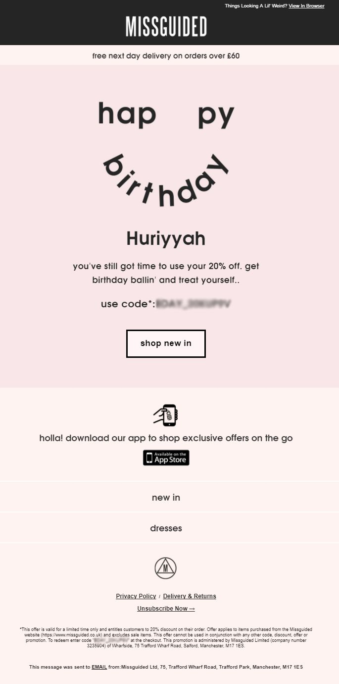 Discount coupons missguided.co.uk