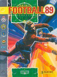 Panini Football 89 Album Cover
