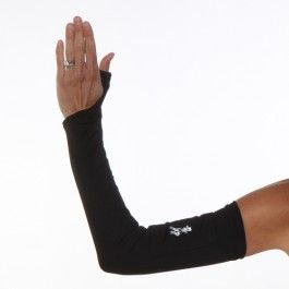 I want!!! Black Compression Sleeves Arm Warmers