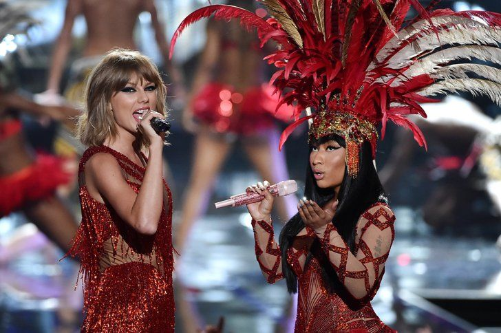 Pin for Later: Nicki Minaj Invite Taylor Swift Sur Scène et Met Fin à Leur Querelle