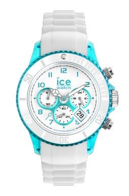 Ice-Watch Chronograph Turquoise and White Chrono Party Watch [Unisex Size] Cocktail: BLUE LAGOON See the entire Ice-Chrono Party Collection at:- http://www.watcho.co.uk/catalogsearch/result/?q=chrono+party