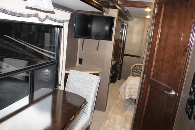 2016 New Thor Motor Coach Challenger 37KT Class A in Florida FL.Recreational Vehicle, rv, 2016 THOR MOTOR COACH Challenger37KT, Cabinetry-Milan Cherry High Gloss Glazed, Frameless Dual Pane Windows, Interior- Napa Valley, Port Exterior Paint, Special: Decor Kit for Show,