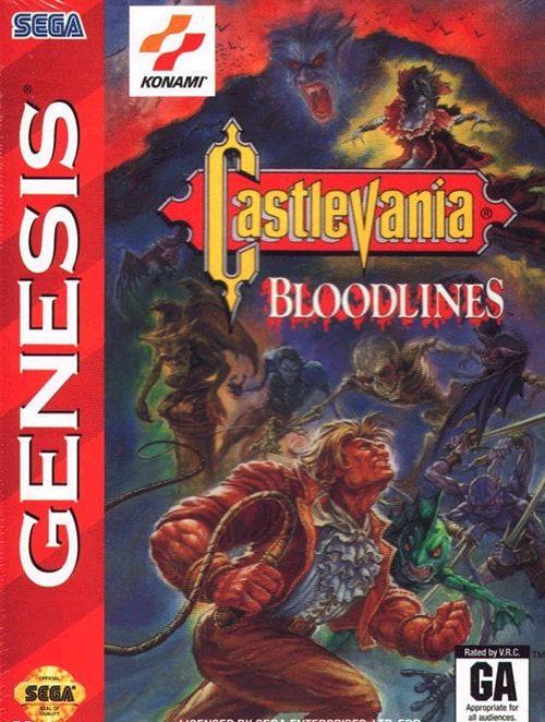 ▷ Play Castlevania: Bloodlines on Sega Genesis (Mega Drive